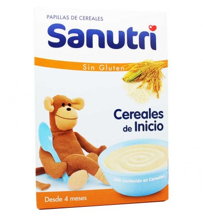 Sanutri Cereales Papilla Sin Gluten 600 g