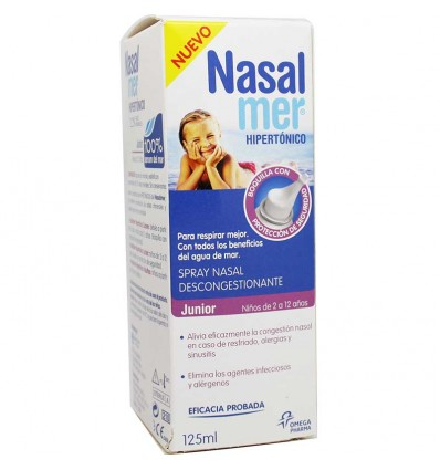 Nasalmer Hipertonico Junior 125 ml