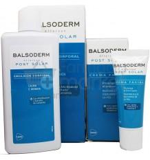 Balsoderm Post solar Corporal 300 ml Pack Facial