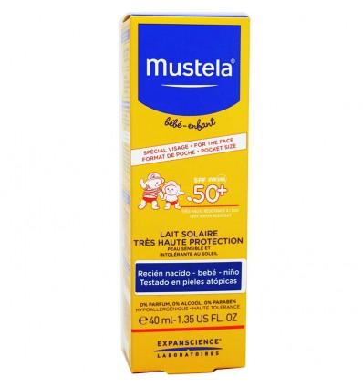 Mustela Solar Leche Facial 50 40 ml