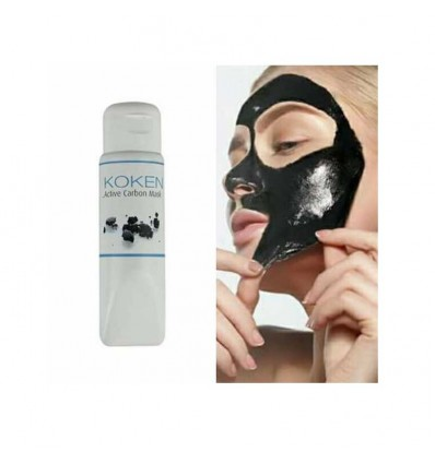 Koken Active Carbon Balck Mask 75 ml