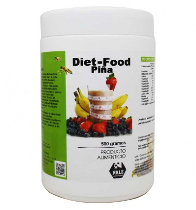 Diet Food Piña 500 g Nale
