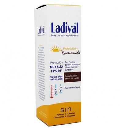 Ladival Proteccion y Bronceado Spray 50 150 ml