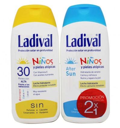 Ladival Niños 30 Crema 200 ml