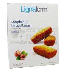 Lignaform Magdalenas Avellanas 4 Raciones