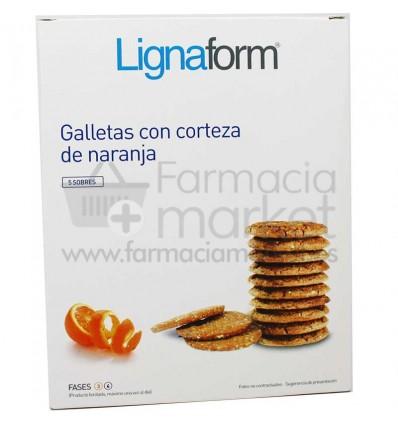Lignaform Galletas Naranja 5 Raciones