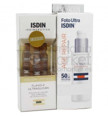 Fotoultra Isdin Age Repair Fluid Water Light 50 ml Promocion