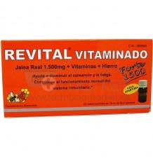 Revital Vitaminado Forte 1500mg 20 Ampollas