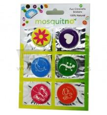 Mosquitno 6 Parches Stickers Antimosquitos