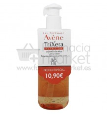 Avene Trixera Nutrition Limpiador Nutri Fluido 400 ml