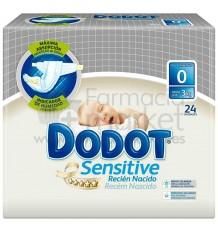 Dodot Pañal Sensitive T0 Hasta 3 Kg 24 Pañales