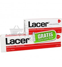 Lacer Pasta dental 125 ml Pack Regalo