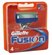Gillette Fusion Recambio 4 Unidades