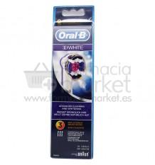 Oral B Recambio 3D White 3 Unidades