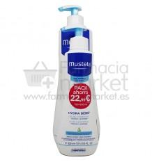 Mustela Bebe Hydra Bebe Cuerpo 750 ml Promo 300 ml