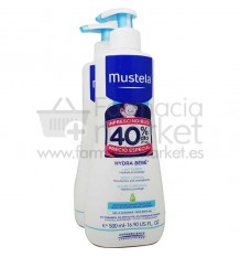 Mustela Bebe Hydra Bebe Cuerpo Duplo 500 ml