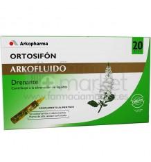 Arkofluido Ortosifon 20 ampollas