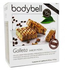 Bodybell Galletas Moka Baja Azucar 10 unidades
