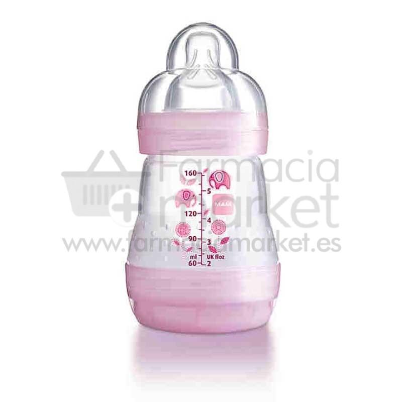 mam baby biberon anticolico 160 ml rosa biberones mam. Black Bedroom Furniture Sets. Home Design Ideas