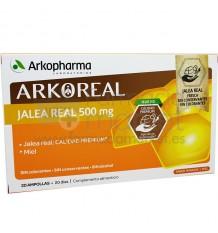Arkoreal Jalea Real 500 mg 20 Ampollas