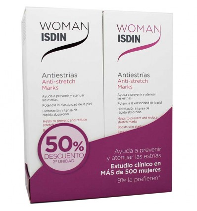 Woman Isdin Antiestriias Duplo Promocion