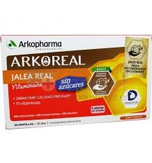 Arkoreal Jalea Real Vitaminada Sin Azucares 20 Ampollas
