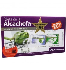 ArkoFluido Pack Alcachofa Te Verde 20 Ampollas
