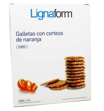 Lignaform Galletas Corteza Naranja 5 Raciones