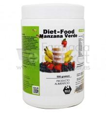 Diet Food Batido Manzana Verde 500 g Nale