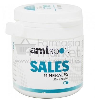 Amlsport Sales Minerales 25 capsulas