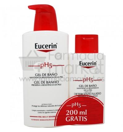Eucerin Ph5 Gel de baño 400 ml regalo Gel Baño 200 ml