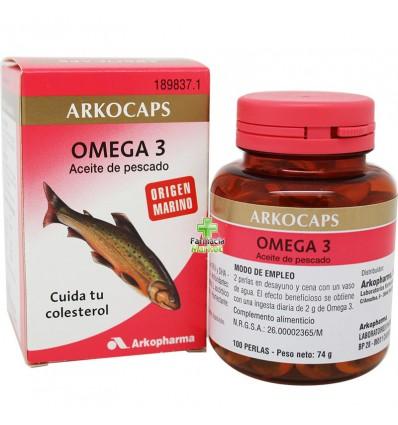 Arkocapsulas Omega 3 Aceite Pescado 100