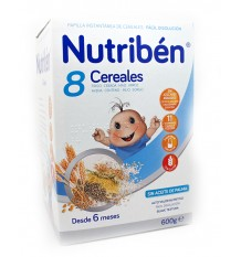 nutriben 8 cereals porridge 600 g
