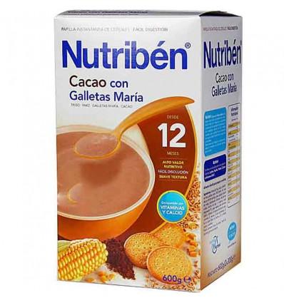 nutriben caco cookies maria 600 grammes