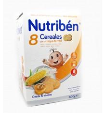 nutriben 8 céréales miel biscuit maria