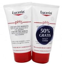Eucerin Crema de Manos 75ml + 75ml Duplo Promocion