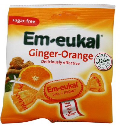 Em-Eukal Bonbons Orange 50 g