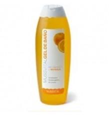 Mussvital Gel de baño con vitamina C y naranja 750 ml