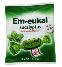 Em-Eukal Bonbons Eukalyptus-Zucker 50 g