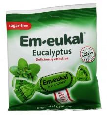 Em-Eukal Rebuçados de Eucalipto Sem Açúcar 50 g