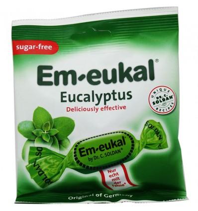 Em-Eukal Bonbons à l'Eucalyptus Sans Sucre 50 g