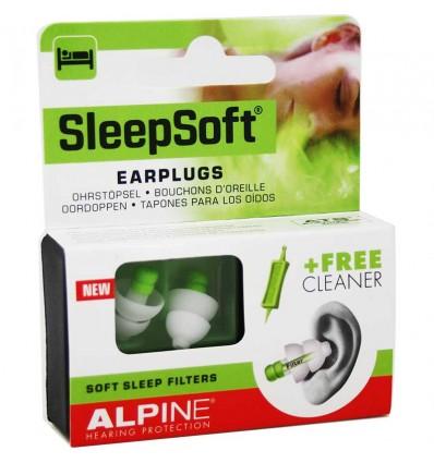 Alpine Sleepsoft Ohrstöpsel Ohren