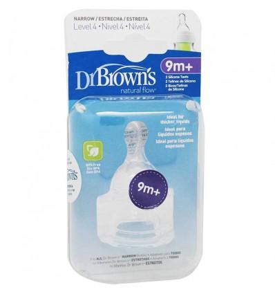Dr Browns Mamelon Niveau 4 De Bouche Étroite