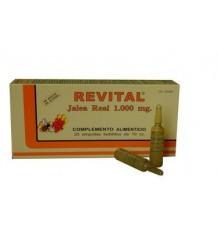 Gelée royale Revital 1000 mg 20 ampoules