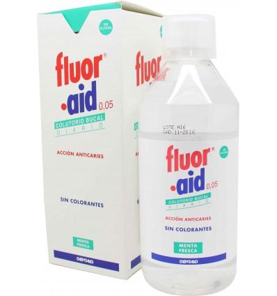 rince-bouche fluorés de l'aide sans colorants
