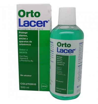 Ortho lacer mouthwash mint