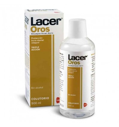 Rince-bouche Lacer oros 500 ml