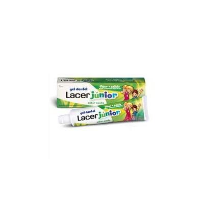 Lacer Junior Gel Menta 75 ml