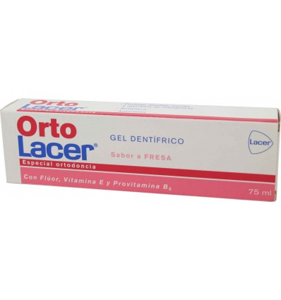 lacer ortoi lacer gel strawberry