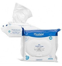 Mustela Wipes Face Physiobebé 25 units